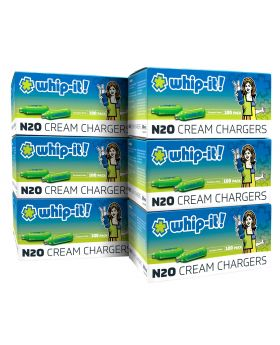 WHIP-IT CREAM CHARGER 100CT/6CS
