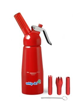 WHIP-IT DISPENSER 0.25L RED