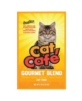 CAT CAFE GOURMET 15 OZ 10 CT