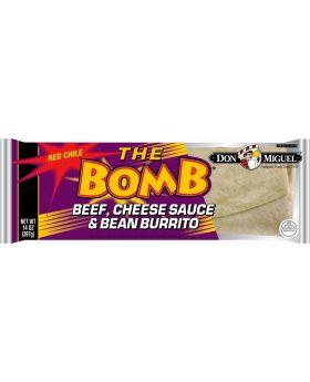 DM BOMB BURRITO BF,BN,CZ, 14oz12
