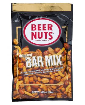 BEER NUTS ORIGINAL BAR MIX 3.25O