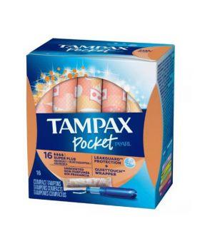 TAMPAX POCKET SUPER PLUS 16 TAMP