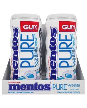 MENTOS GUM PURE WHITE SWE 10CT