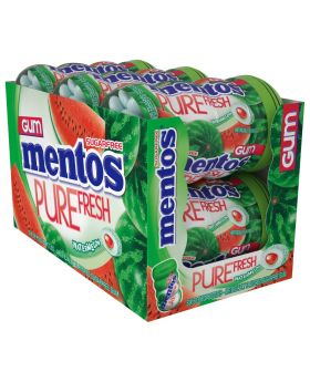 MENTOS JAR GUM WATERMELON 6CT