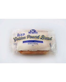 NE-MO CAKE ICED GOLDEN POUND 4OZ