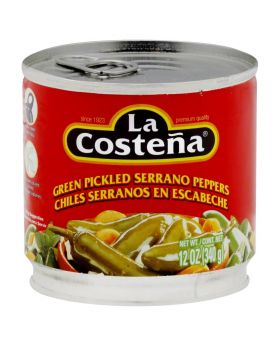 LA COSTE PICLLED PEPPERS 12OZ