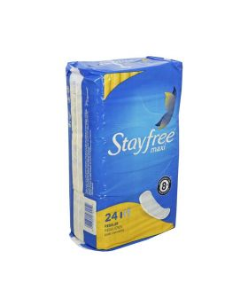 STAY FREE MAXI REGULAR 24 PADS