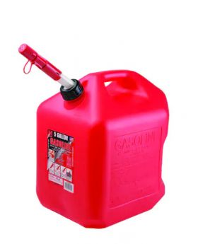 GAS CAN 5 GALLON RED
