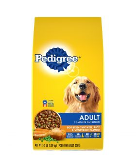 PEDIGREE ADULT CHK/RICE 3.5LB4CT