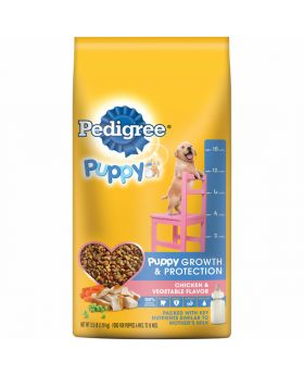 PEDIGREE PUPPY CHK&VEG 3.5LB 4CT
