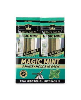 KING PALM MINI MAGIC MINT 2-20CT