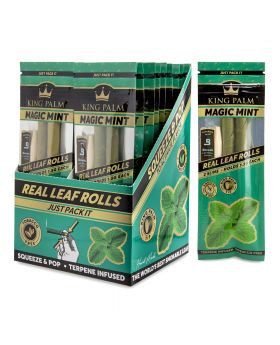 KING PALM SLIM MAGIC MINT 2-20CT