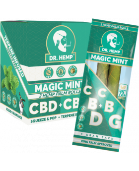 DR. HEMP MAGIC MINT 2-20CT