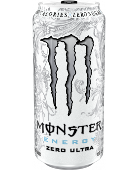 MONSTER WHITE 16 OZ 24 CT