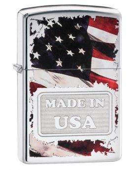 ZIPPO LIGHTER MADE IN USA COLOR