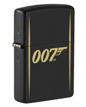 ZIPPO LIGHTER BOND 007 GUN BLACK