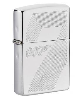ZIPPO LIGHTER BOND 007 GUN SILVE