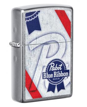 ZIPPO LIGHTER PABST BLUE RIBBON