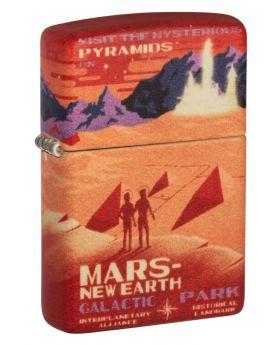 ZIPPO LIGHTER MARS DESIGN