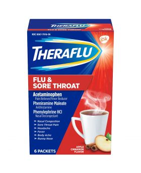 THERAFLU FLU & S/THROAT 6CT