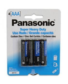PANASONIC AAA 4 PK 12 CT