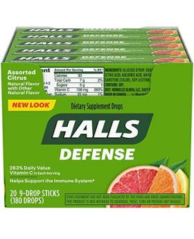 HALLS DEFENSE CITRUS 20 CT