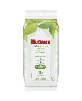 HUGGIES BABY WIPES 16/16CT