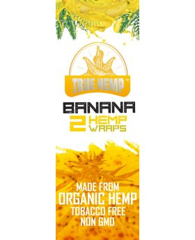 TRUE HEMP BANANA 25/2PK