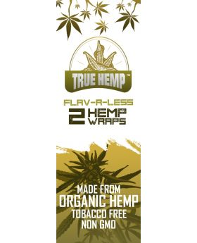 TRUE HEMP FLAV-R-LESS 25/2PK