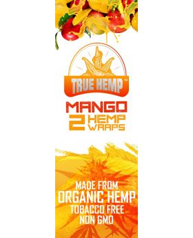 TRUE HEMP MANGO 25/2PK