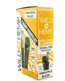 WILD HEMP PINEAPPLE BUZZ 10CT