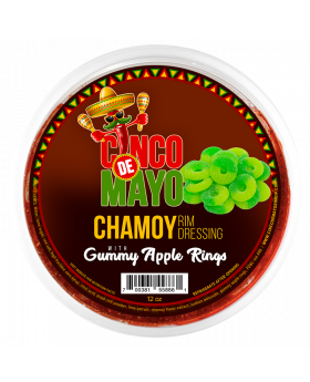CINCO DE MAYO GUMMY APPLE 12OZ