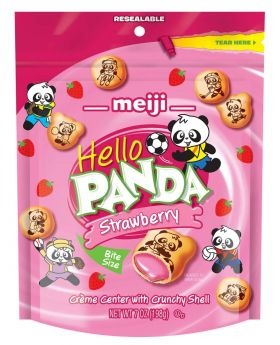 MEIJI HELLO PANDA STRAWBERY 7oz6