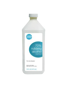 RUBBING ALCOHOL 70% 16OZ 1CT