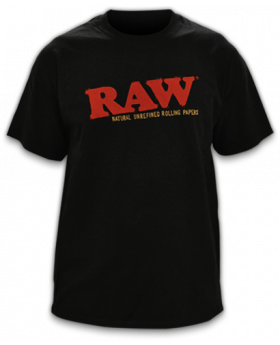 RAW AP MENS SHIRT BLACK LG