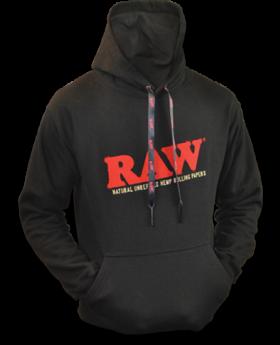 RAW AP BLACK HOODIE SM