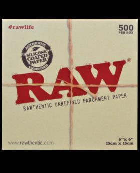 RAW PARCHMENT SQUARES 6X6 500CT