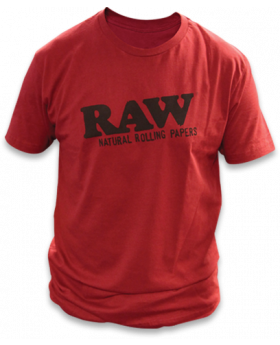 RAW AP RAWLIFE SHIRT RED LG
