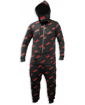 RAW AP ONESIE BLACK SM