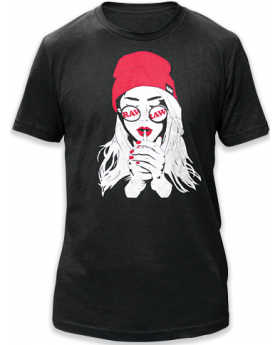 RAW AP UNISEX SHIRT SMOK GIRL SM