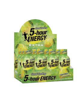 5 HOUR ENERGY E/S C.MINT LEM 12C