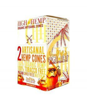 HIGH HEMP CONES HONEY 15/2PK