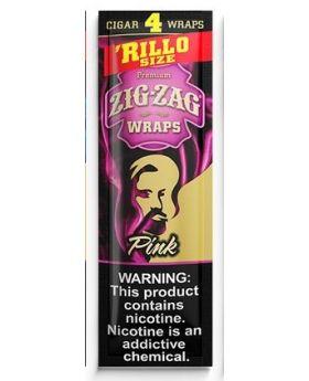 ZIG ZAG WRAPS PINK 15/4PK