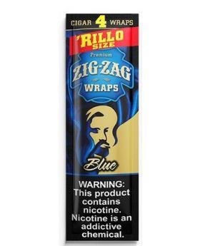 ZIG ZAG WRAPS BLUE 15/4PK