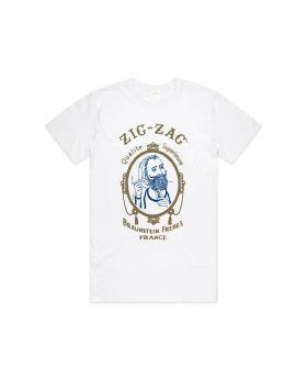 ZIG ZAG T-SHIRT CLASSIC WHITE LG