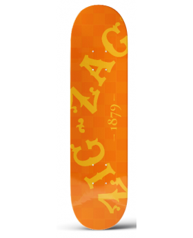 ZIG ZAG SKATEBOARD ORANGE
