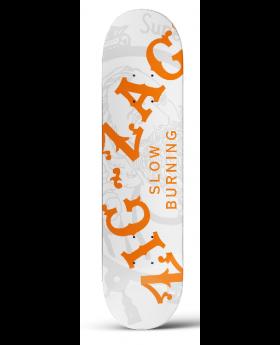 ZIG ZAG SKATEBOARD WHITE