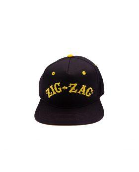 ZIG ZAG HAT BLACK & GOLD
