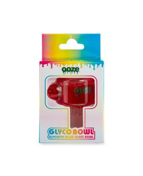 OOZE GLYCO BOWL RED 1CT