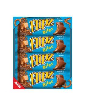 FLIPZ PRETZEL CARAME BITE BAR 24